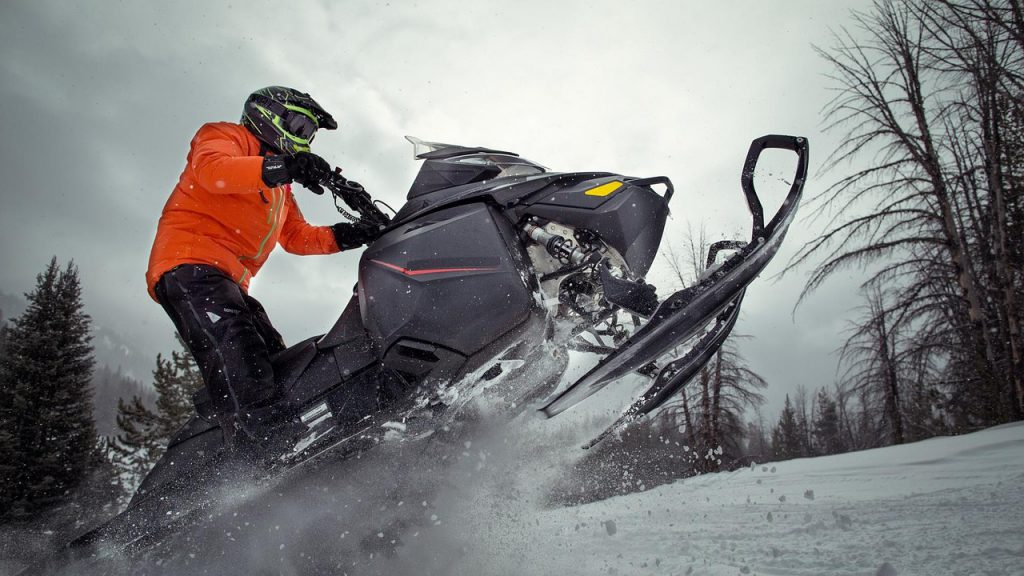 snowmobiling hotel experience