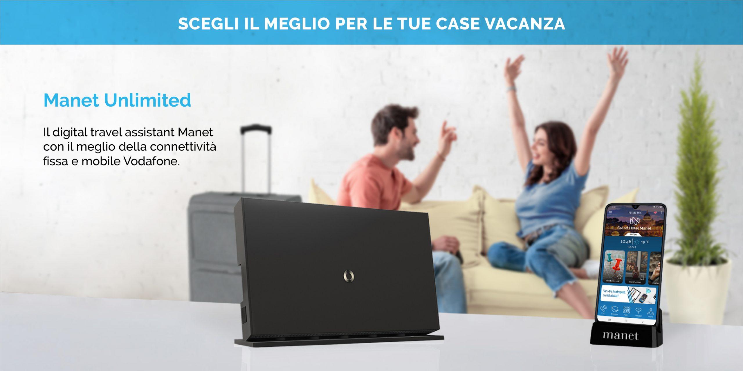 Offerta Manet Unlimited per case vacanza