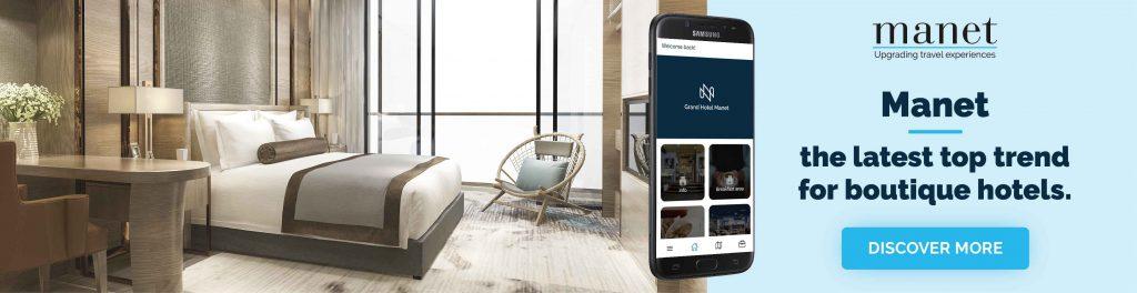 Manet smart mobile assistant for boutique hotels